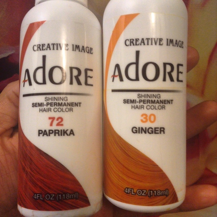 How To Dye Hair Natural Orange